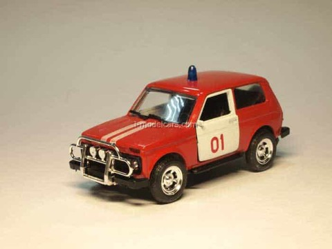 VAZ-21213 Niva Lada Fire Engine Agat Mossar Tantal 1:43