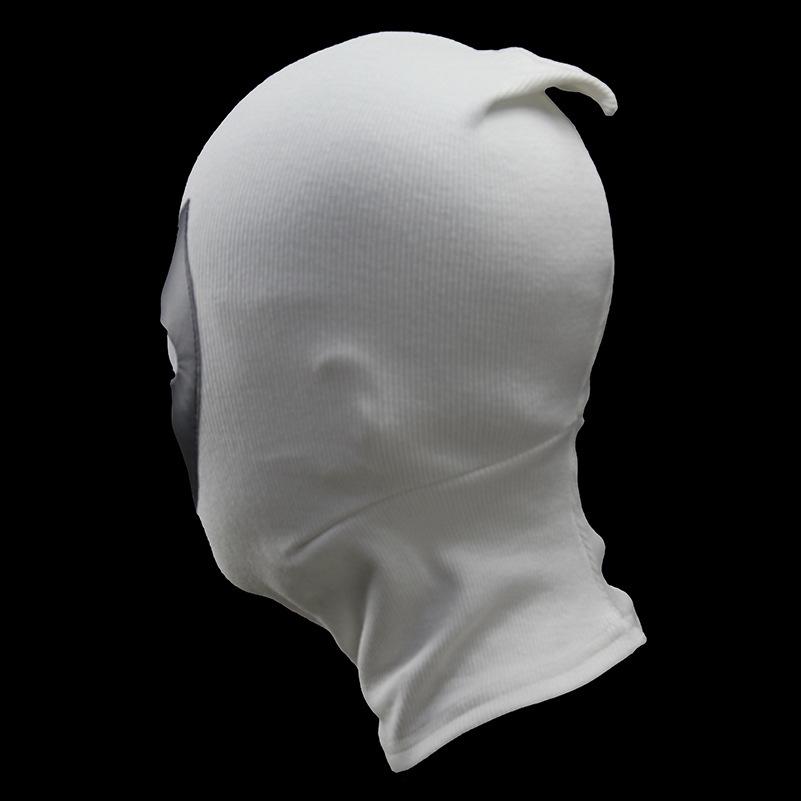 Маска тканевая Дэдпул белый