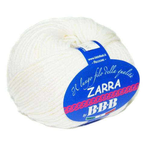 Купить Пряжа BBB Zarra Код цвета 0100 | Интернет-магазин пряжи «Пряха»