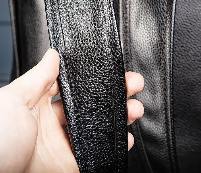 BAG557 Стильный кожаный рюкзак с оленем фото 08