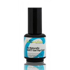 In'Garden, Matt Gel Top Coat So Naturally, матовый топ, 11 мл