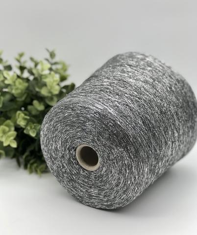 Вискоза с люрексом TORCITURA DI DOMASO DISPO 3400 алюминиевый с серебром