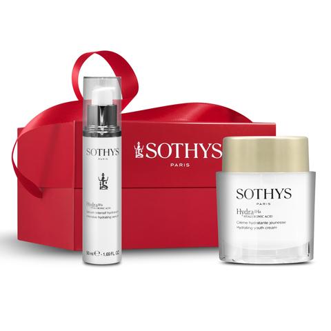 SOTHYS Рождественская коллекция: Набор Hydra Light в коробке (Light Hydra Youth Cream + Hydrating Serum)