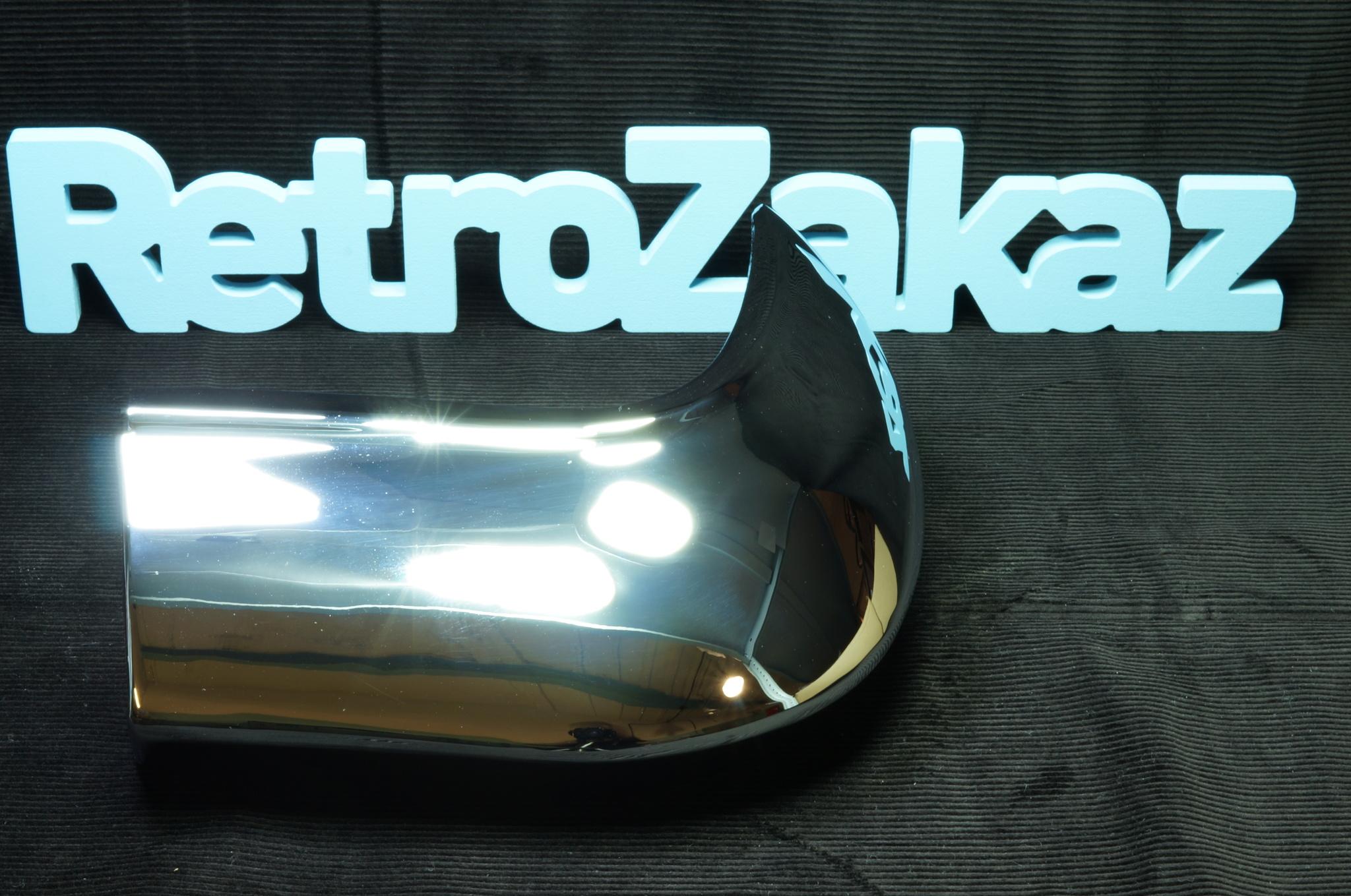 Угол заднего бампера Газ 21 3 серии