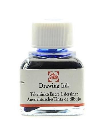 Тушь DRAWING INK банка 11 мл цв.№504, ультрамарин