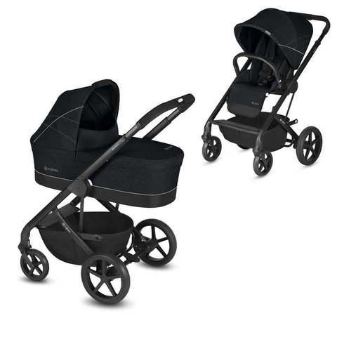 Детская коляска Cybex Balios S 2 в 1 Lavastone Black