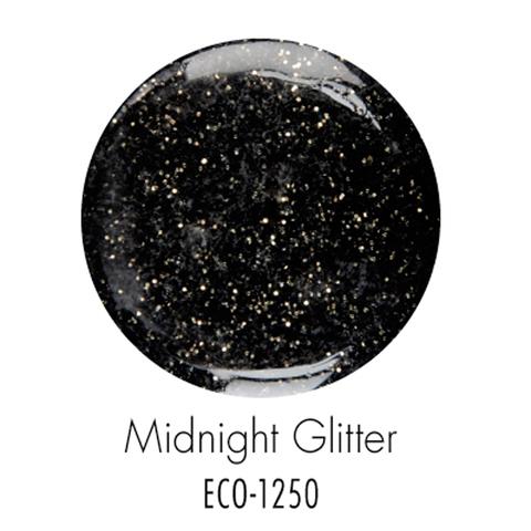 Биогель ECO SO QUICK SOAK OFF мерцающий черный 7г