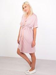 Euromama/Евромама. Комплект халат и сорочка вискозный шелк, сухая роза вид 6