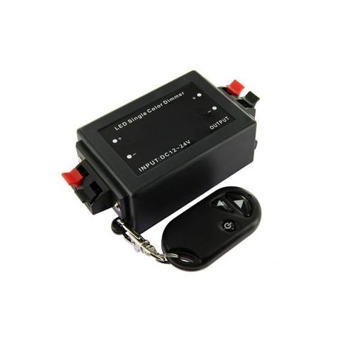 Диммер для светодиодной ленты 12/24V. 96/192W. 8A с радиобрелком.
