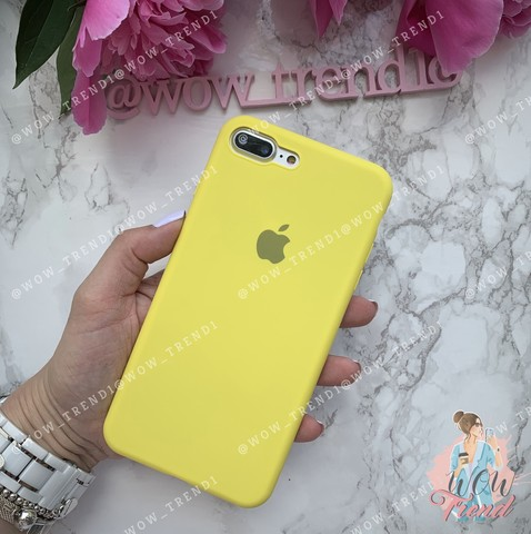 Чехол iPhone 7/8 Plus Silicone Slim Case /flash/