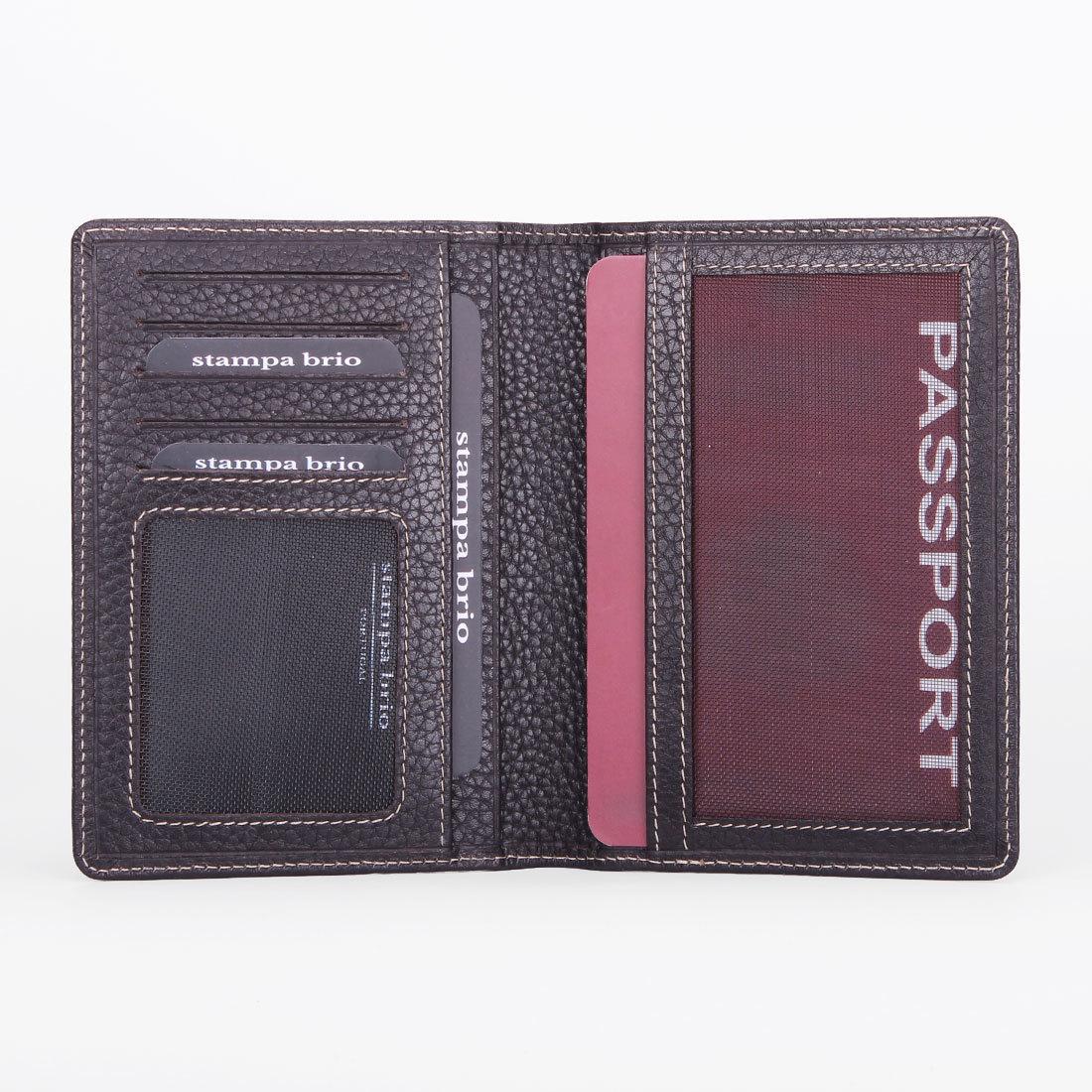 110 R - Обложка для паспорта с RFID защитой