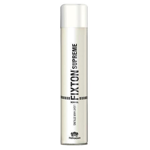 Farmagan Fixton Supreme Styling: Лак для волос нормальной фиксации (Normal Hair Spray), 500мл