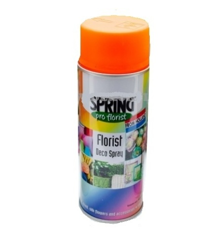 Краска-спрей SPRING (объем:400мл) Цвет: 007, оранжевый