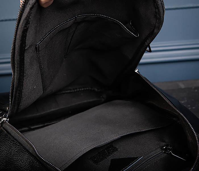 BAG557 Стильный кожаный рюкзак с оленем фото 11