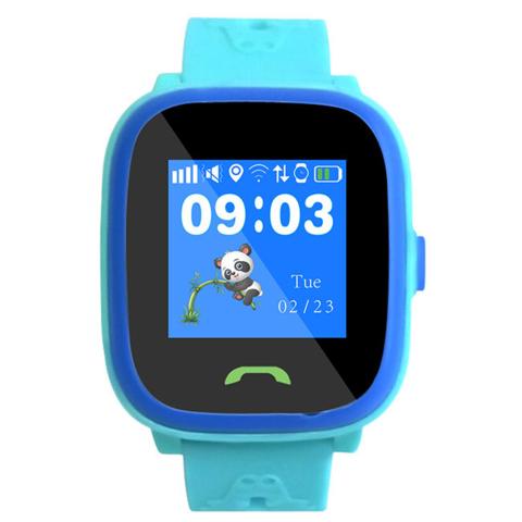 Умные часы детские HW8 | синие влагозащищенные