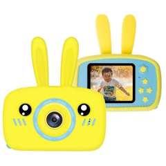 Uşaqlar üçün rəqəmsal fotoaparat - sarı