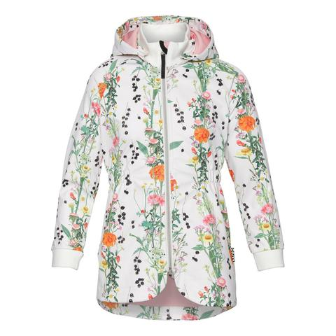 Molo Hillary Vertical Spring  куртка - ветровка для девочки весна soft shell