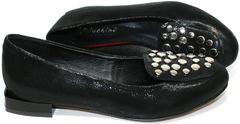 Туфли балетки женские Kluchini 5212 k 364 Black.
