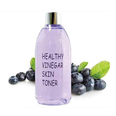 Realskin Тонер для лица с черникой Healthy Vinegar Skin Toner Blueberry, 300 мл