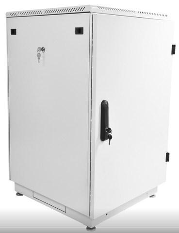 Шкаф телекоммуникационный напольный 27U (600 × 600) дверь металл ЦМО ШТК-М-27.6.6-3ААА