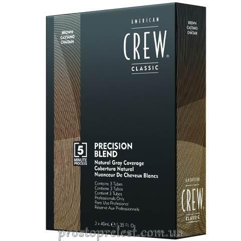 American Crew Precision Blend Medium Natural - Система маскування сивини (рівень 4-5)