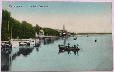 Mariehamn. Vastra hamnen