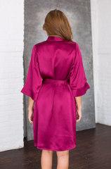 Халат натуральный шелк Mia-Mia 15143 вишневый