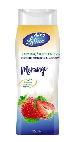 AFRO LATINA Body Cream 250 ml Strawberry (клубника)