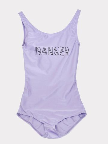 Боди для танцев c принтом
