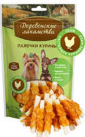 Лакомство для собак мини-пород: палочки куриные 55г.