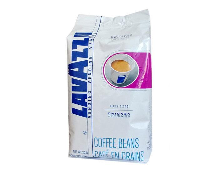 Кофе в зернах LavAzza Vending Gusto Forte, 1 кг (Лавацца)