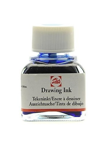 Тушь DRAWING INK банка 11 мл цв.№511, кобальт синяя