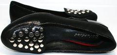 Балетки черного цвета Kluchini 5212 k 364 Black.