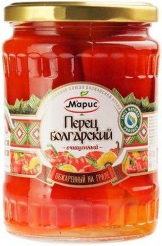 Перец болгарский, обжаренный на гриле