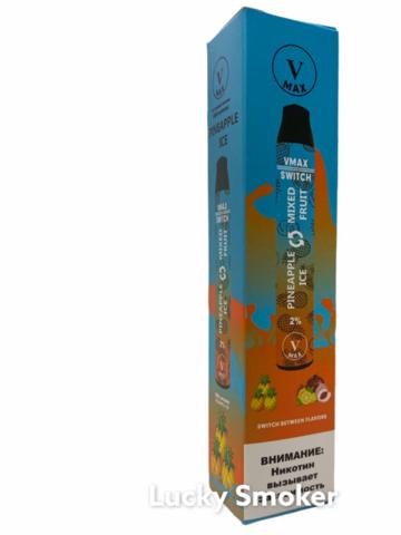 V Max Switch с Переключателем вкуса (1800 Затяжек) Pineapple Ice & Mixed Fruit