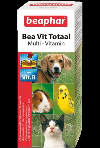 купить Beaphar Vit Total бефар кормовая добавка для всех домашних животных