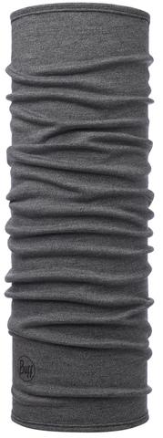 Шерстяной шарф-труба Buff Light Grey Melange фото 1