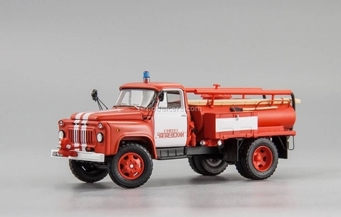 GAZ-52 ACU-10 1975 fire engine State Farm Chapaevsky DIP 1:43