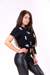 Женская футболка  Nebbia tied knot