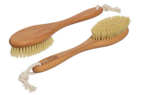 YOZHIK Щётка для сухого массажа (класс М, натуральное волокно тампико)