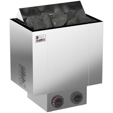 Электрическая печь SAWO NORDEX NRX-80NB-Z (8,0 кВт, встроенный блок управления, световой индикатор)