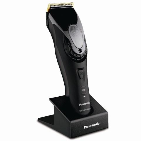 Машинка для стрижки Panasonic ER-GP80, аккум/сетевая, 3 насадки, черная