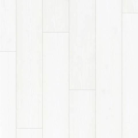 Ламинат QS1200 Impressive Ultra Белоснежный IMU 1859, 33кл, ( упак5 шт 1,311м2