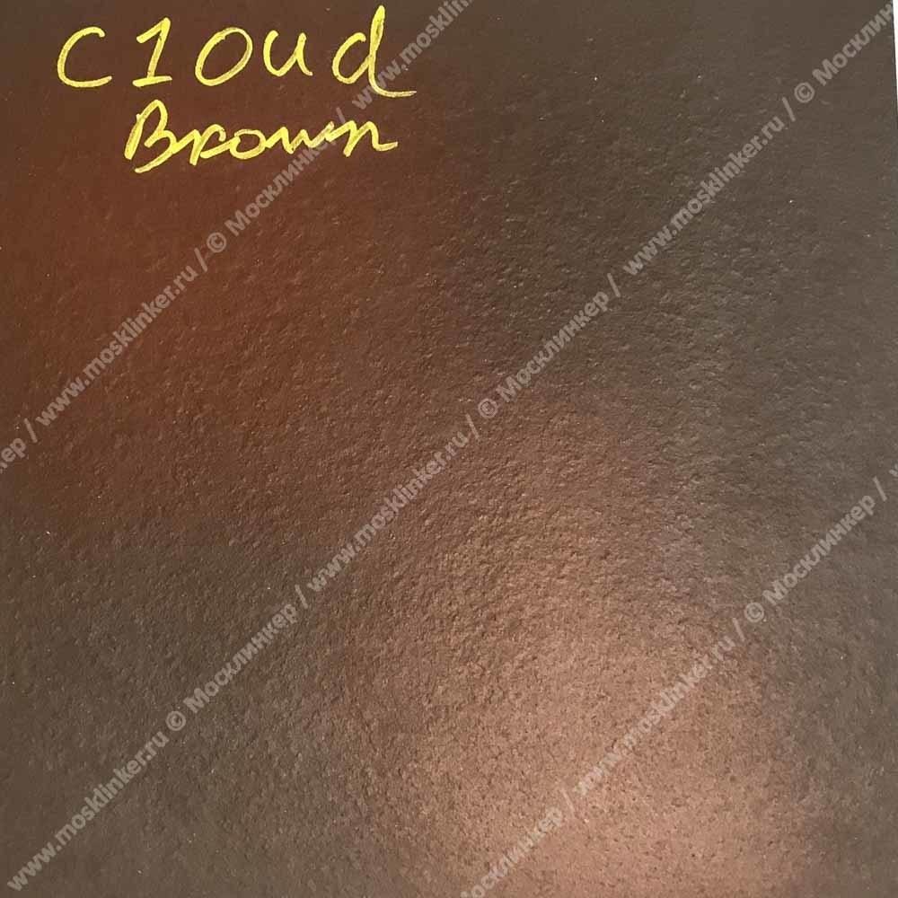 Ceramika Paradyz - Cloud Brown Duro, 300x330x11, артикул 17 - Ступень простая с капиносом структурная