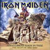 Iron Maiden ‎/ Somewhere Back In Time - The Best Of: 1980-1989 (RU)(CD)