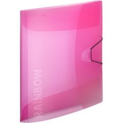 Папка на резинках Attache А4 пластиковая розовая (0.45 мм, до 200 листов)