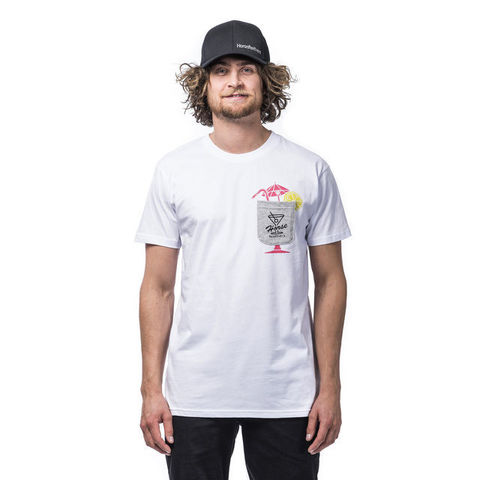 Футболка Horsefeathers Cocktail T-Shirt White