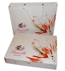 Подарочная коробка + сумка Famille