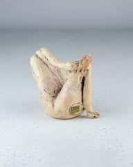 Скульптура из шамотной глины «Ню», 12х12 см, Falco Ceramic