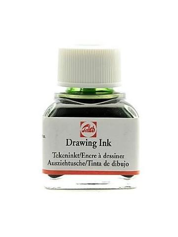 Тушь DRAWING INK банка 11 мл цв.№601, зелёная светлая